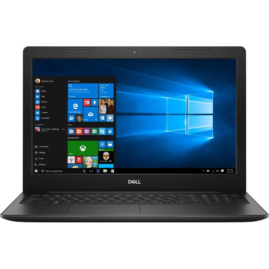 "Fotografie Laptop Dell Inspiron 3580 cu procesor Intel® Core™ i5-8265U pana la 3.90 GHz, Whiskey Lake, 15.6"", Full HD, 8GB, 1TB, AMD Radeon 520 2GB, Microsoft Windows 10, Black"