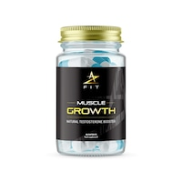 Хранителна добавка за повишаване на мускулната маса и тестостерона AZFIT Muscle Growth, 100% натурална, 60 капсули