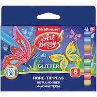 ErichKrause Artberry Glitter Filctoll, 8 szín