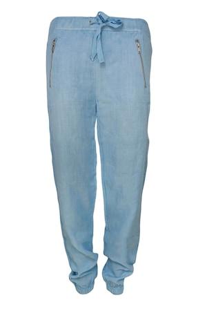 Pantaloni casual The Sting, Albastru deschis, pentru femei, M