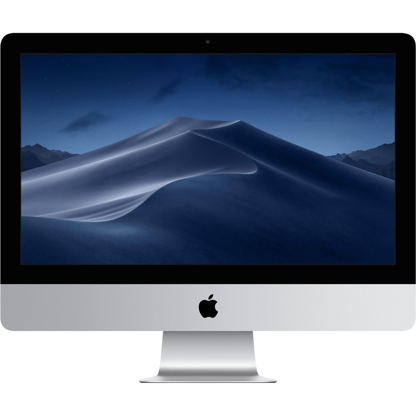 "Fotografie Sistem Desktop PC iMac 21.5 cu procesor Intel® Core™ i3 3.60 GHz, 21.5"", Retina 4K, 8GB, 1TB, Radeon Pro 555X 2GB, macOS Mojave, INT KB"