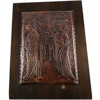 Икона голяма Свети Петър и Павел, Oreshak, медна ламарина, 38х28