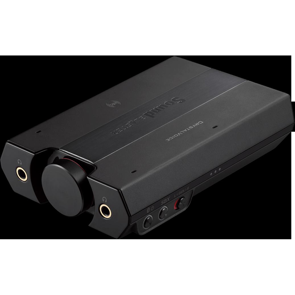 Fotografie Amplificator casti Creative Sound Blaster E5 - HI-FI DAC, AMP 600ohm/120db, aptX BT, NFC, 7.1 Virtual Surround