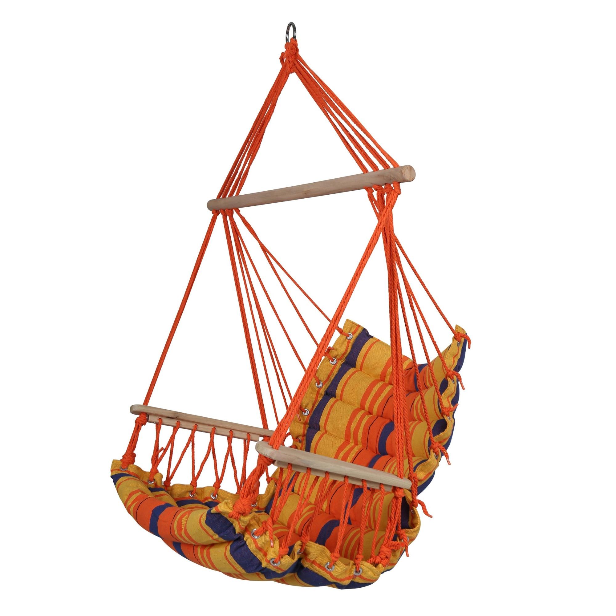 Hamac Art Tip Scaun Confectionat Din Bumbac Si Poliester Cu Bara Din Lemn 90 X 65 Cm Emag Ro