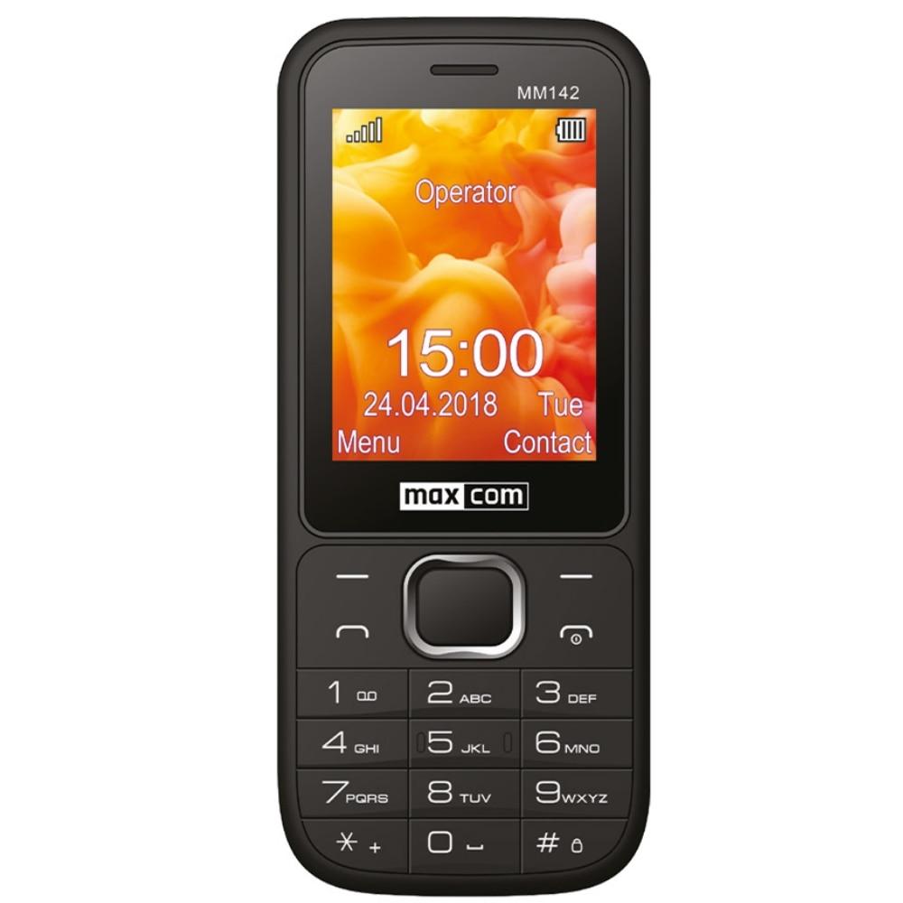 Fotografie Telefon mobil MaxCom MM142, Dual SIM, 32GB, 2G, Black