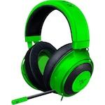 Razer Kraken gaming fejhallgató, zöld