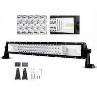Led Bar Лед Диоден Бар Прожектор Flexzon 12V 24V 55 См 324W Мощен 7D 7Д