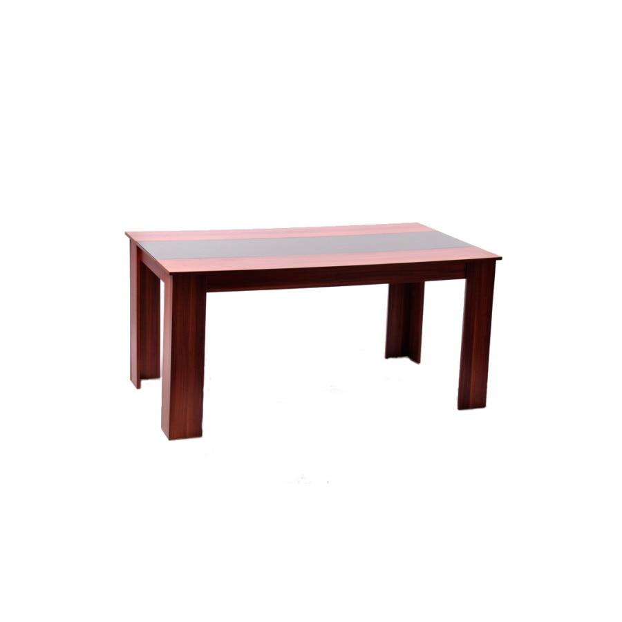 Ikoni Laura asztal üvegbetéttel 160 x 90 x 76 cm eMAG.hu
