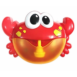 Jucarie de baie, Crab cu baloane muzicale de sapun