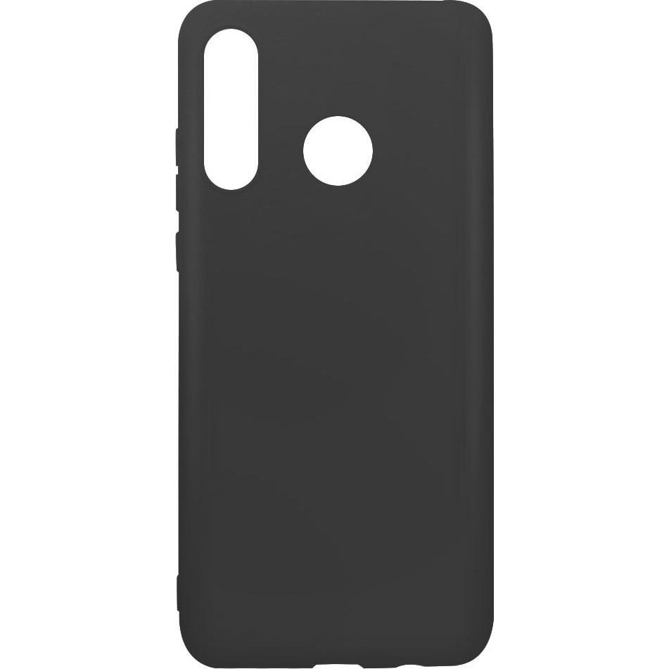 Fotografie Husa de protectie Lemontti Silicon Silky pentru Huawei P30 Lite, Black