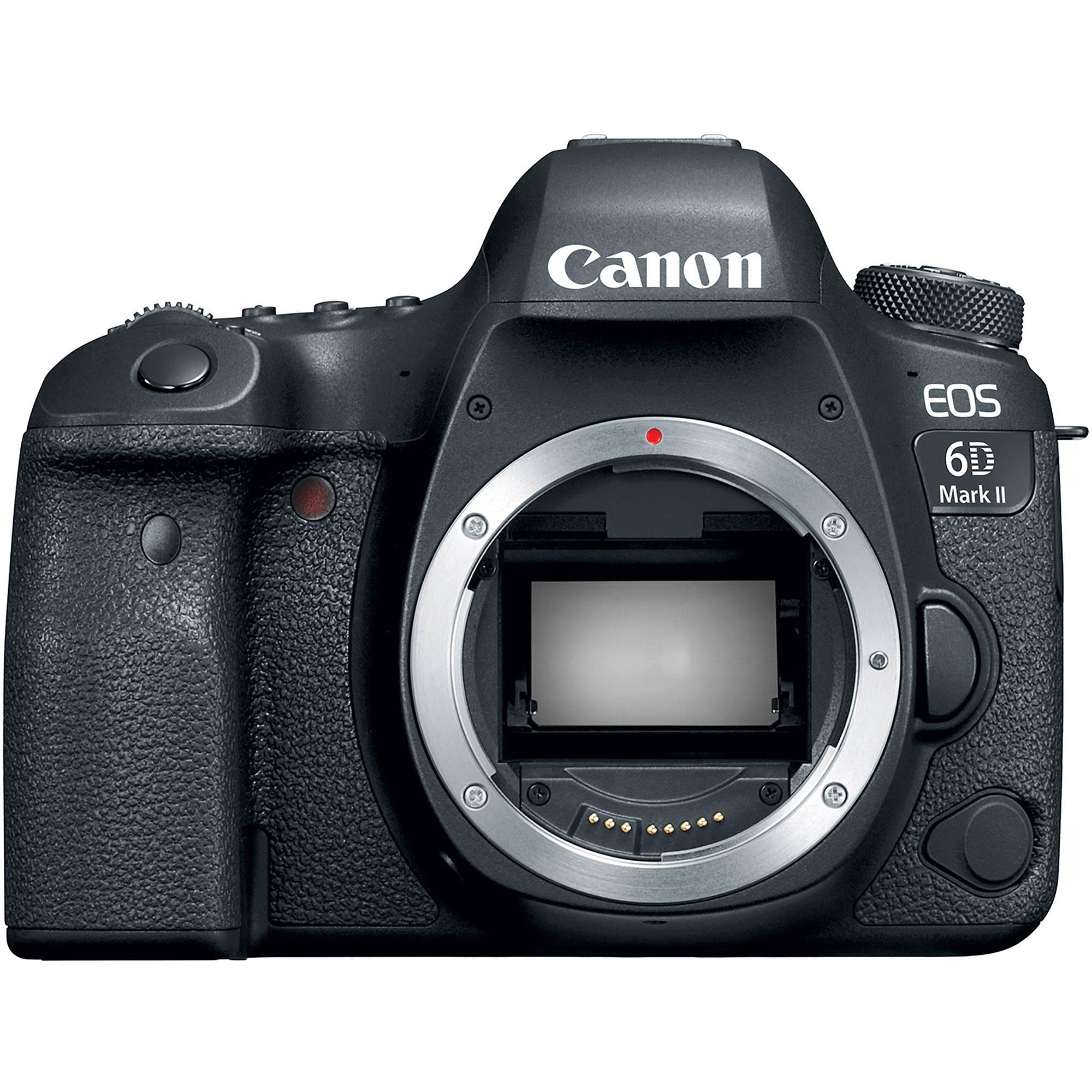 Fotografie Aparat foto DSLR Canon EOS 6D Mark II, 26.2 MP, Body, Negru