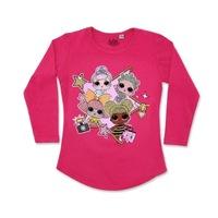 LOL Surprise Gyerek hosszú ujjú póló, pink 110-116 cm