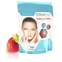Хидролизиран телешки колаген Collango, 10 000 мг, Ягода, 330 гр.