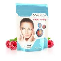 Хидролизиран телешки колаген Collango,10 000 мг, Малина, 330 гр.