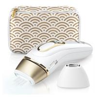 Braun Silk-expert Pro 5 PL5137 IPL villanófényes szőrtelenítő, 400.000 villanás, ajándék Venus borotva és tasak, Fehér