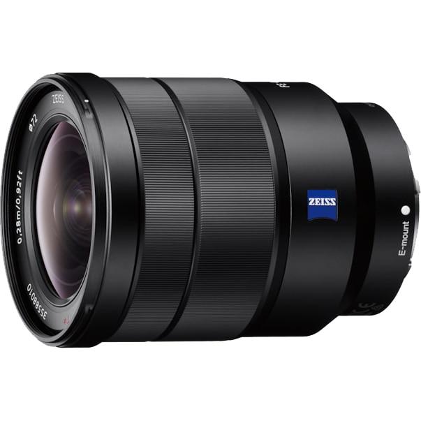 Fotografie Obiectiv Sony Vario-Tessar T*, montura FE, 16-35mm, F4 ZA OSS, Negru