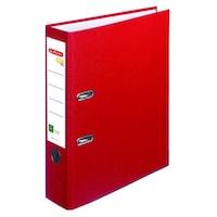Set 20 bibliorafturi Herlitz One File plastifiat 7,5cm rosu