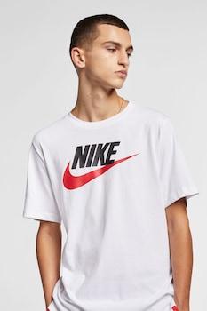 Nike, Tricou de bumbac Icon Futura, Alb