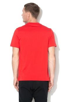 Nike, Tricou cu logo si decolteu la baza gatului JDI, Rosu
