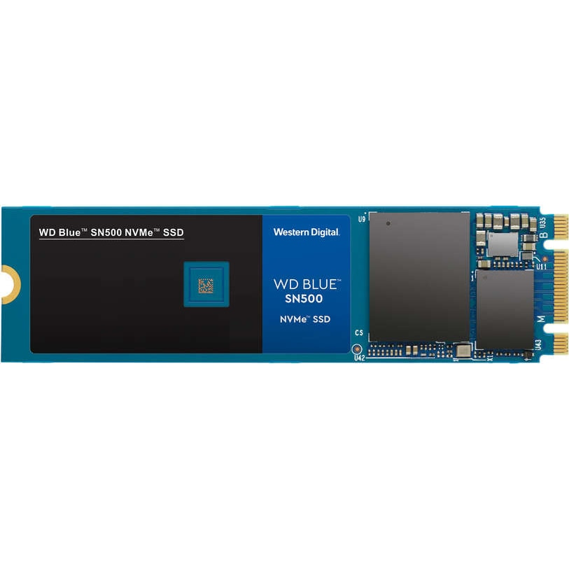 Fotografie Solid-state Drive (SSD) WD Blue SN500, 500GB, NVMe, M.2
