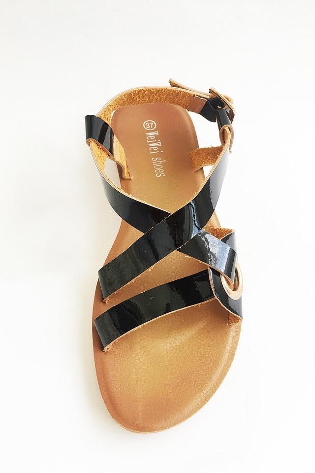 Sandale Negre Dama Cross 37 - eMAG.ro