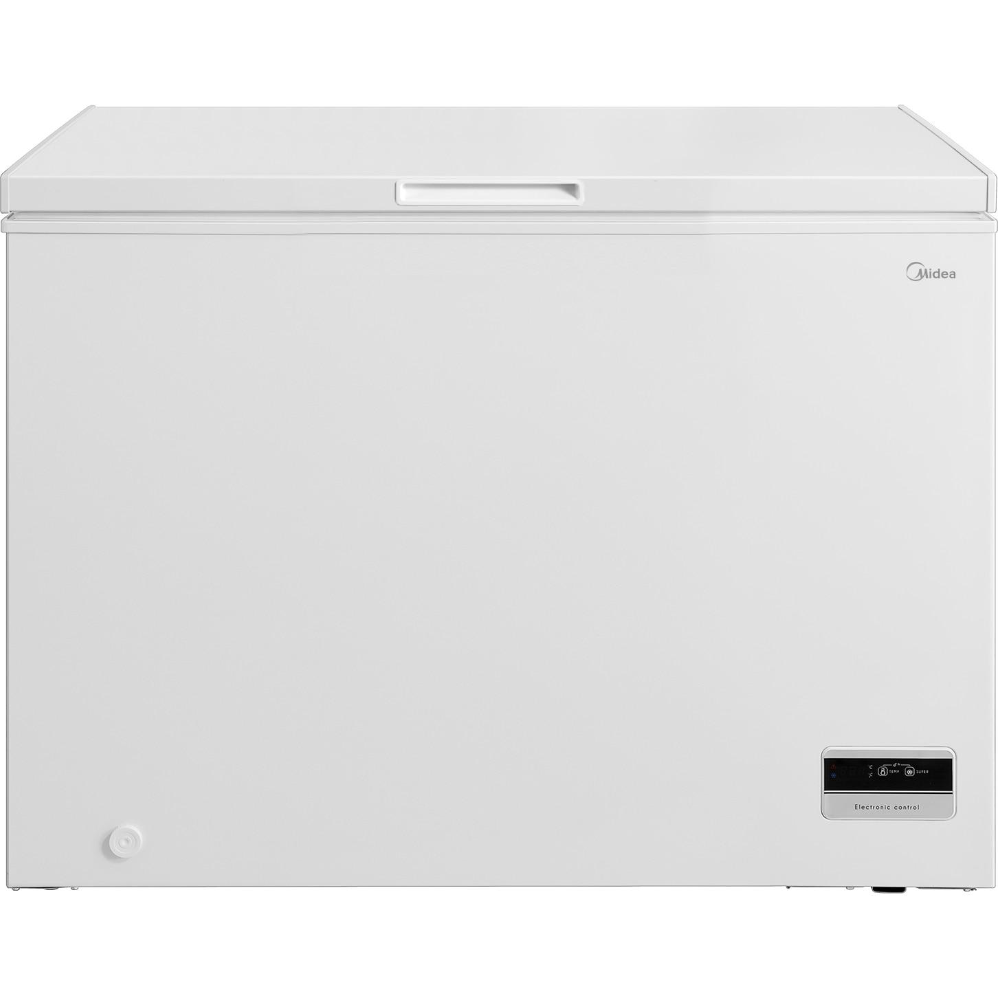 Fotografie Lada frigorifica MIDEA MDRC405FZF01CE, 290l, Control Digital, Functie frigider, Clasa F, Alb