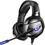 Професионални слушалки за игри DC-Onikuma K5 Profesionale, Surround Sound 7.1, Microfon Noise Cancelling, Zero Ear Pressure, Multi Platform + Мини калъф Dynamite Case