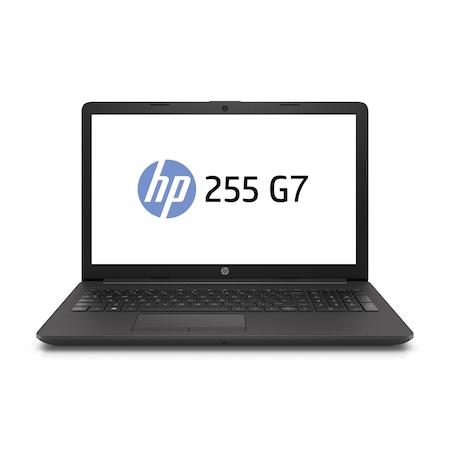 Лаптоп HP 255 G7 с AMD Ryzen 5 3500U (2.1/3.7 GHz, 4M), 8 GB, 500GB M.2 NVMe SSD, AMD Radeon Vega 8, Windows 10 Pro 64-bit, графитеночерен