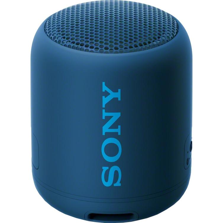 Fotografie Boxa portabila Sony SRS-XB12L, EXTRA BASS, Bluetooth, Rezistenta la apa IP67, Albastru