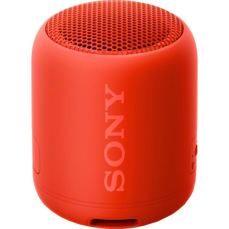 Fotografie Boxa portabila Sony SRS-XB12R, EXTRA BASS, Bluetooth, Rezistenta la apa IP67, Rosu