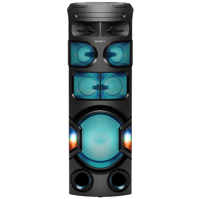 Fotografie Sistem audio High Power SONY MHC-V82D, Jet Bass Booster, Sunet 360 grade, Hi-Fi, Bluetooth, NFC, Dj Effects, USB, DVD, Party music, Party lights, Negru