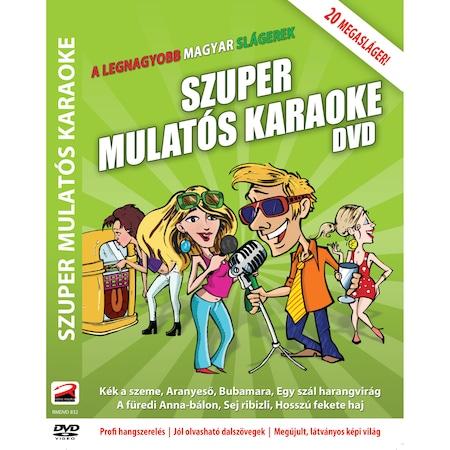 Szuper Mulatós Karaoke DVD