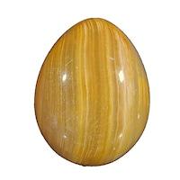 Яйце от полускъпоценни камъни Minerals Rainbow, Оникс 4,8/3,6 см