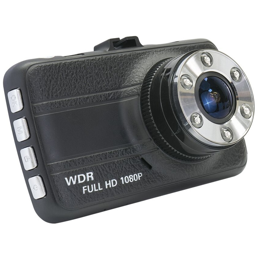 Fotografie Camera auto DVR PNI Voyager S1250, Full HD, display 3 inch, card de 16GB inclus