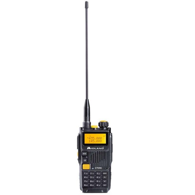 Fotografie Statie radio portabila Midland CT590S,VHF/UHF,dual band 136-174Mhz - 400-470Mhz