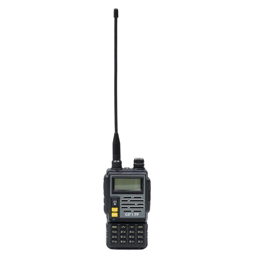 Fotografie Statie radio portabila CRT 1 FP HAM,VHF/UHF, dual band 136-174 si 400-470 MHz ,negru