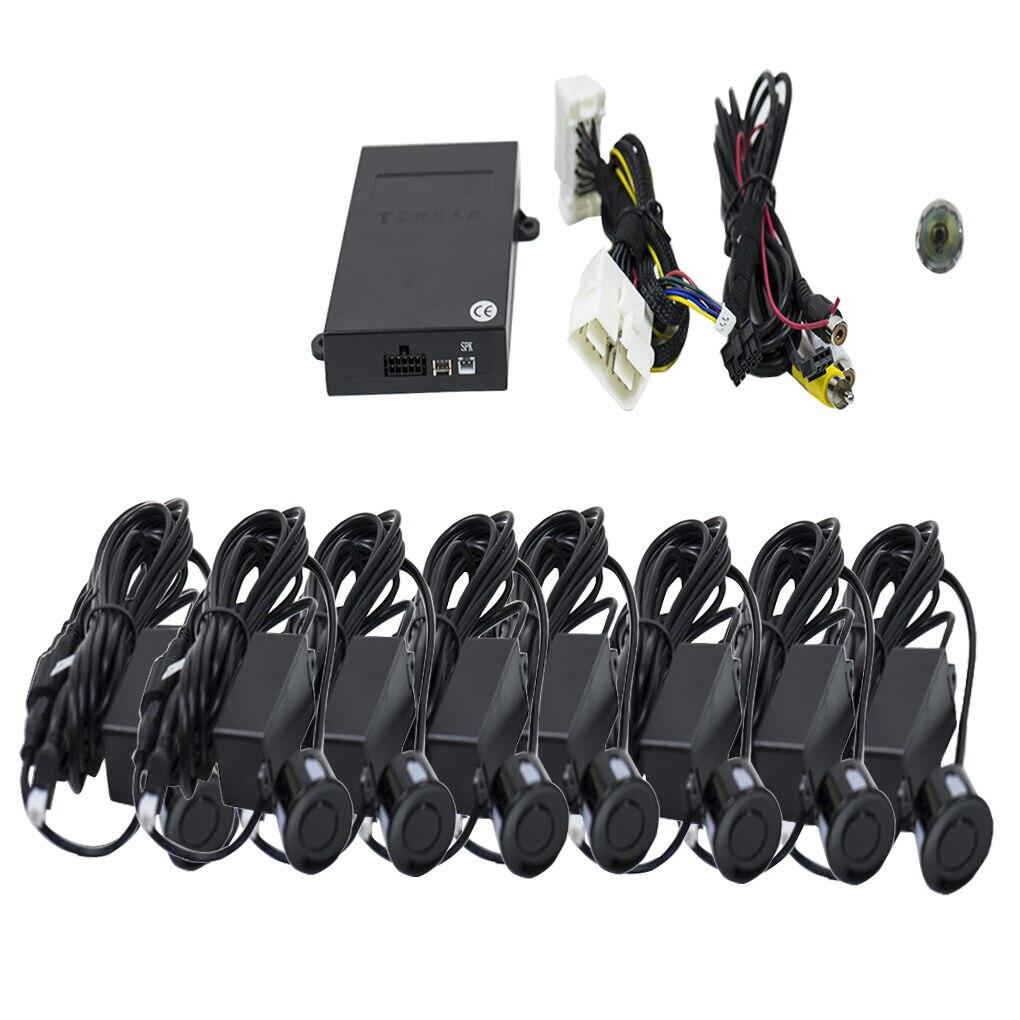Fotografie Senzori parcare auto PNI Escort P08, fata/spate, OBD cu 8 receptori