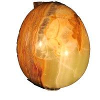 Яйце от полускъпоценни камъни Minerals Rainbow, Оникс 1, 20/12,5 см