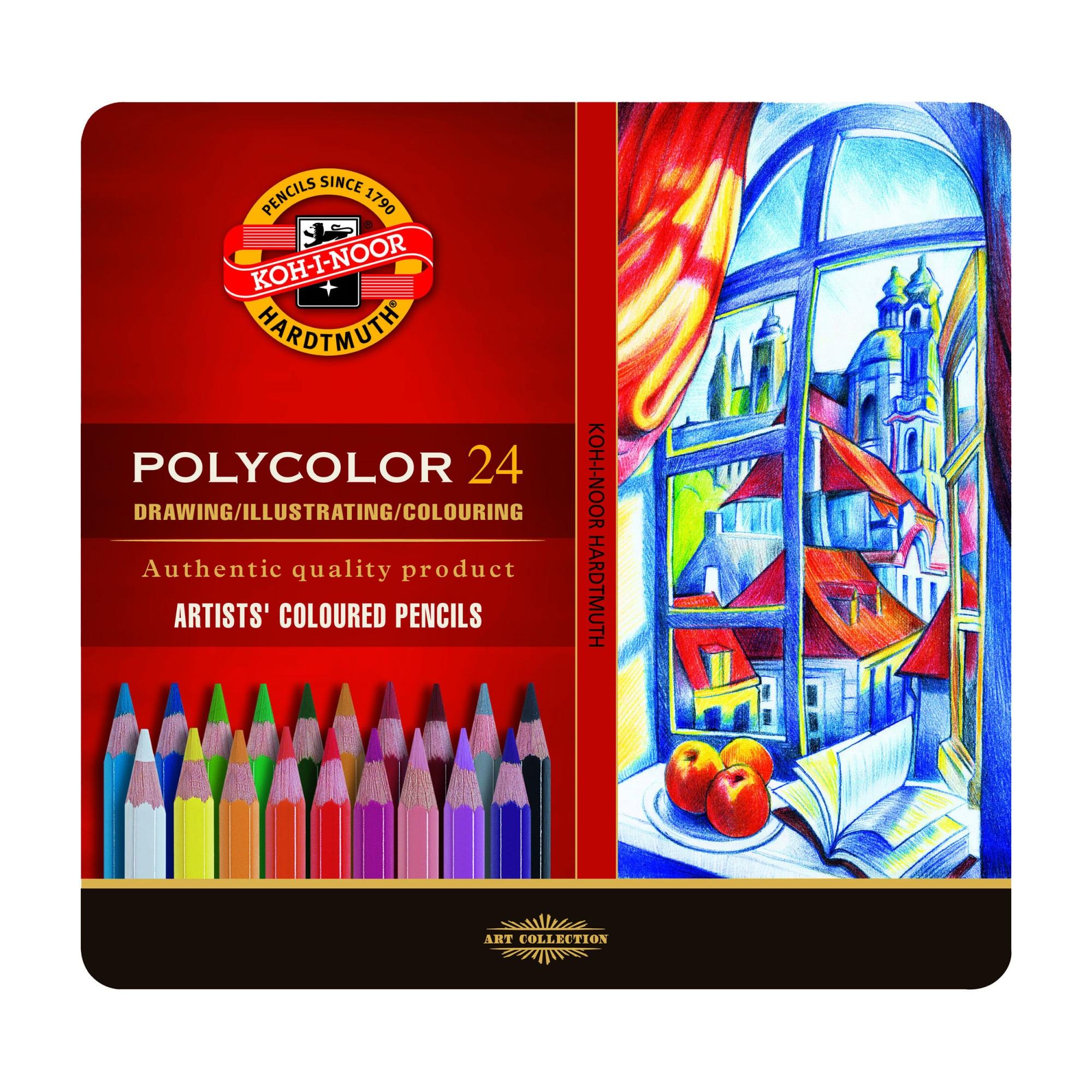 Fotografie Set 24 culori Polycolor