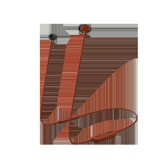Fotografie Casti Bluetooth in ear Panasonic RP-NJ310BE-R, sunet dinamic, bas amplificat si puternic XBS, telecomanda subtire cu microfon, autonomie 6h, incarcare rapida, rosu