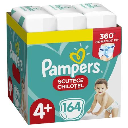 Пелени-гащички Pampers Pants XXL Box 4+ Maxi Plus, 9-15 кг, 164 броя