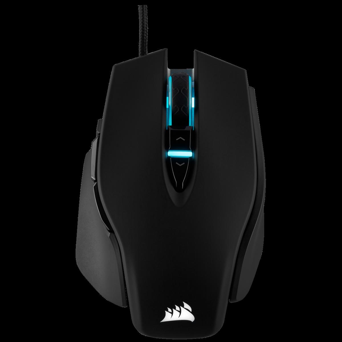 Fotografie Mouse gaming Corsair M65 Pro Elite RGB, senzor optic 18000DPI, Negru