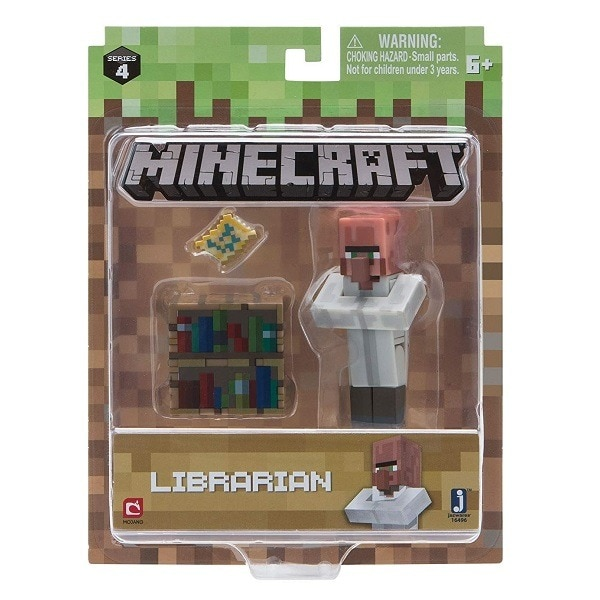 Minecraft figura - Falusi könyvtáros Wf2pyG