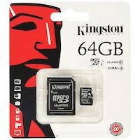 Карта памет Kingston 64GB с адаптер клас 10