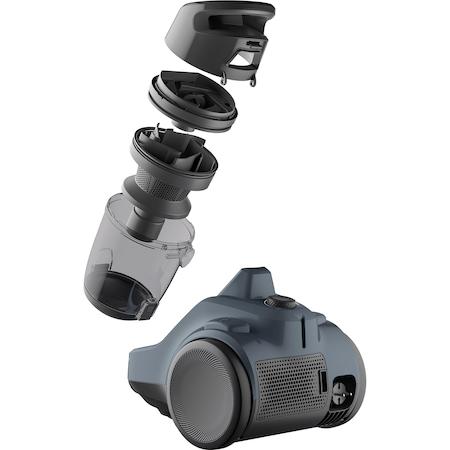 Aspirator fara sac Electrolux Ease C4 3A EC41-6DB, 700 W, Clasa A, 1.8 L, Filtre lavabile, Perii speciale, Albastru