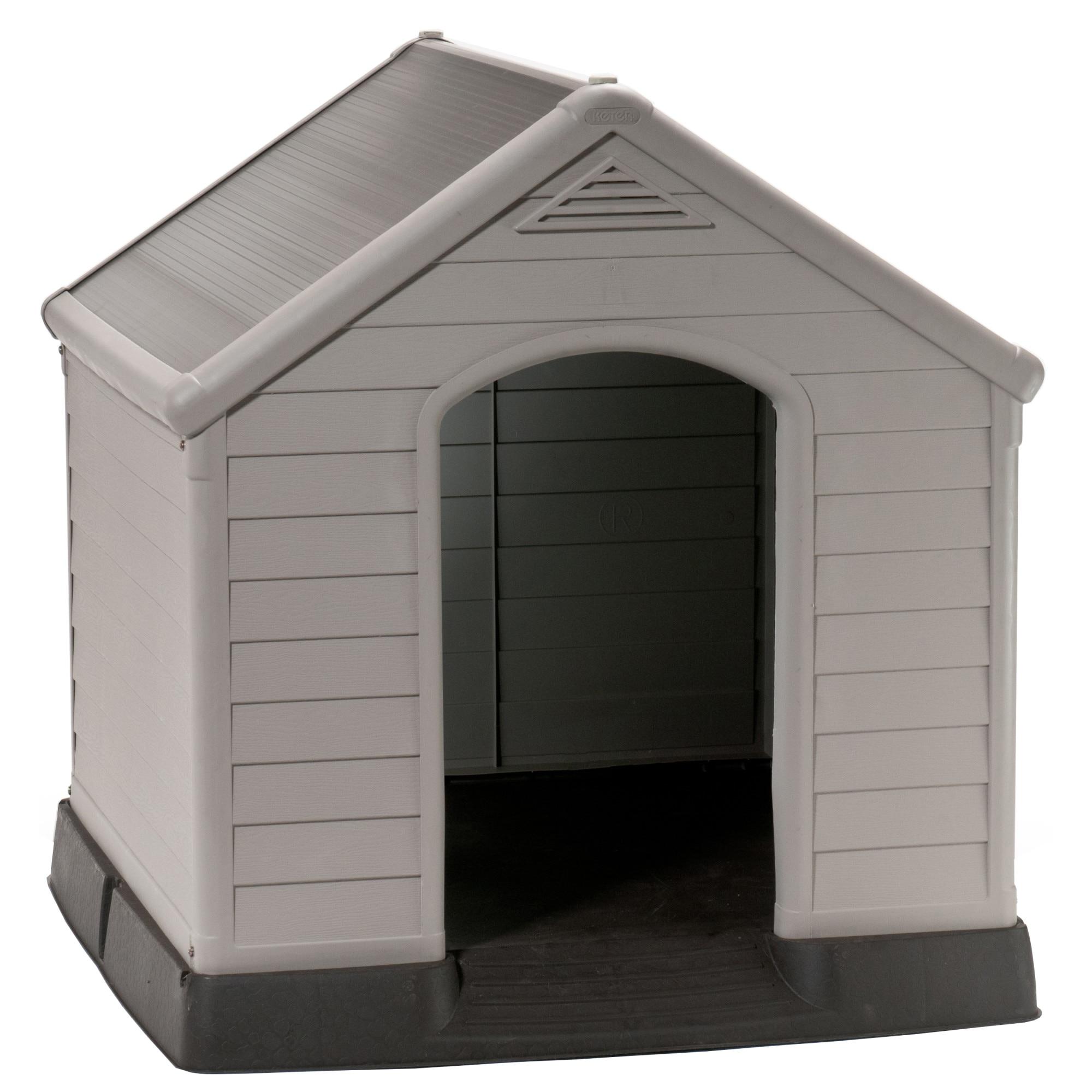 Fotografie Cotet din plastic pentru caini Curver, 99x95x99 cm