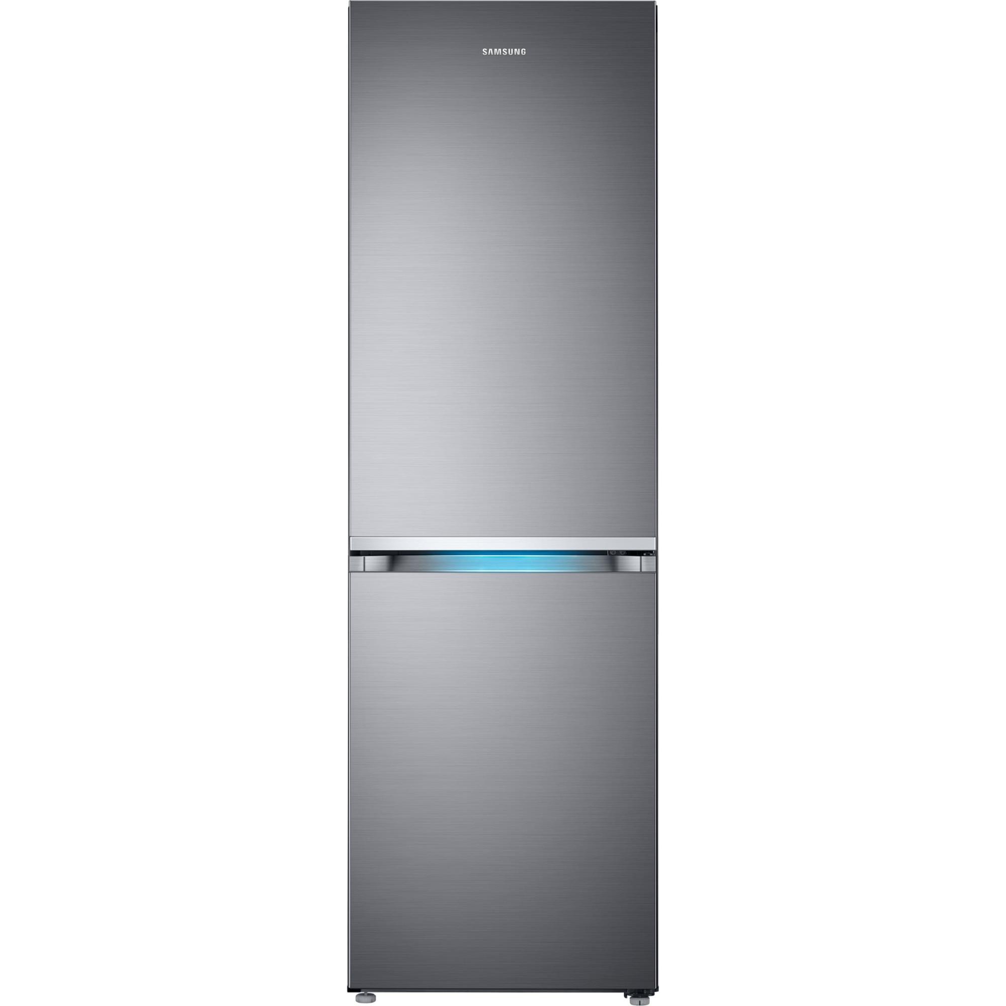 Fotografie Combina frigorifica Samsung RB38R7717S9/EF, 382 l, Clasa E, NoFrost, H 192.7 cm, Argintiu
