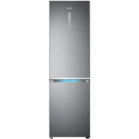 Fotografie Combina frigorifica Samsung RB41R7837S9/EF, 406L, NoFrost, Touch control, Clasa A++, H 201 cm, Argintiu