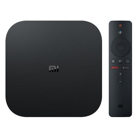 Медиа плеър Xiaomi MI TV Box S, 4K, Voice Control, Черен
