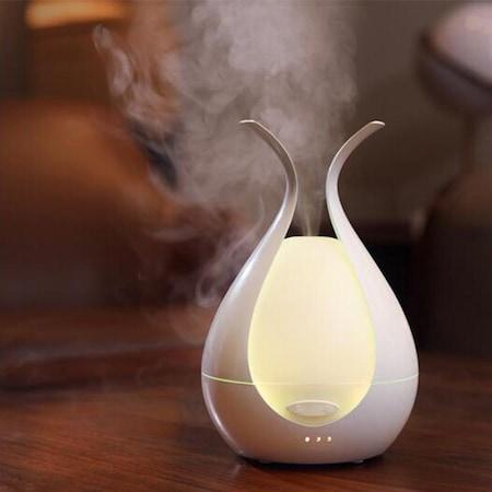 Umidificator Home purificator aer, difuzor, aromaterapie, ultrasunete, LED